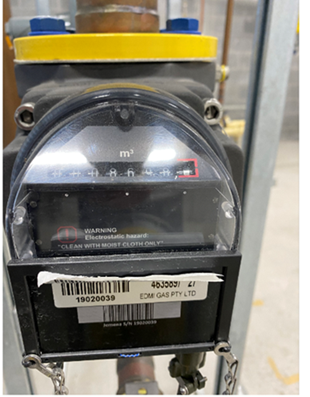 Commercial Gas Meter 2