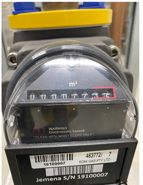Commercial Gas Meter 3
